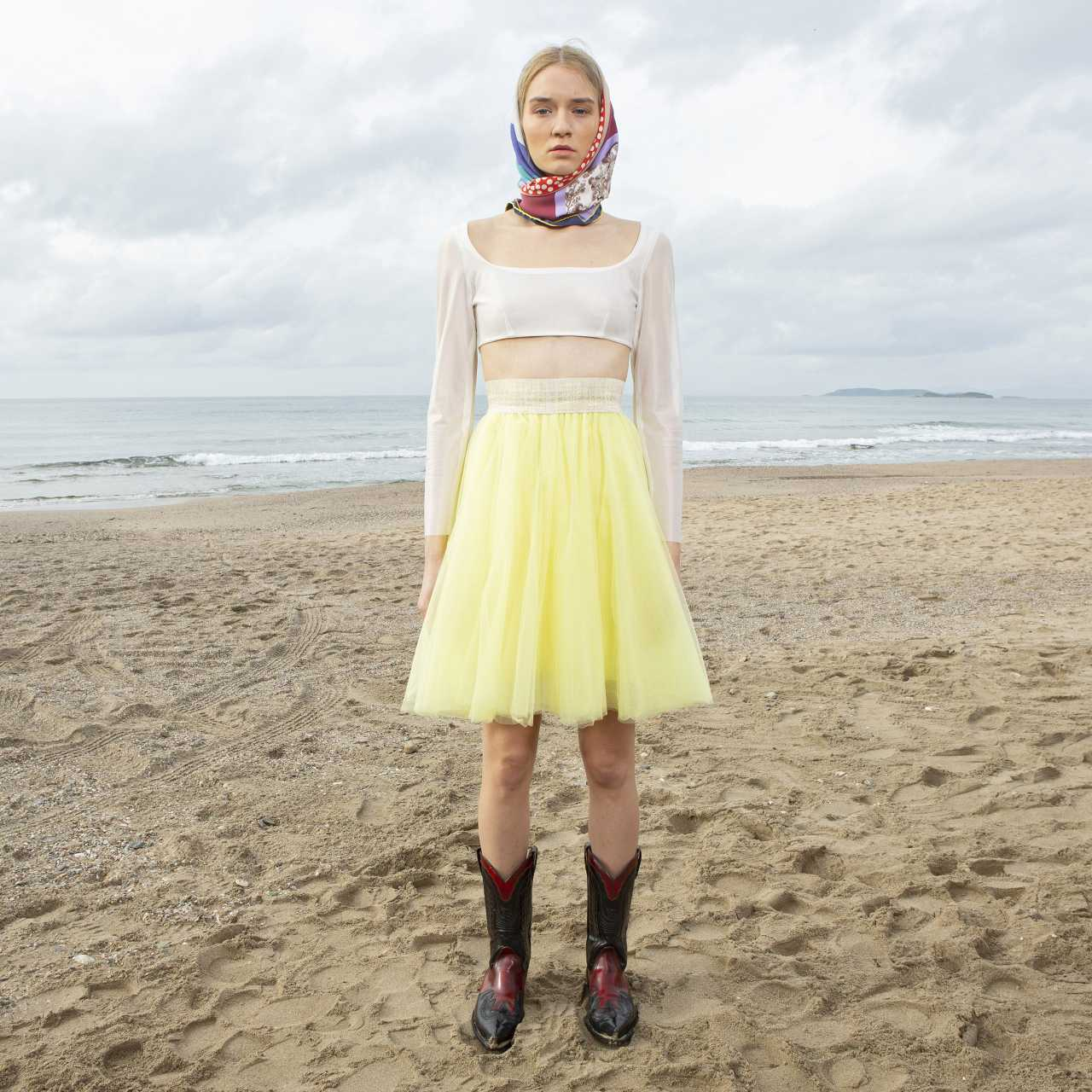 Product preview: Tulle Tutu Skirt Short Yellow