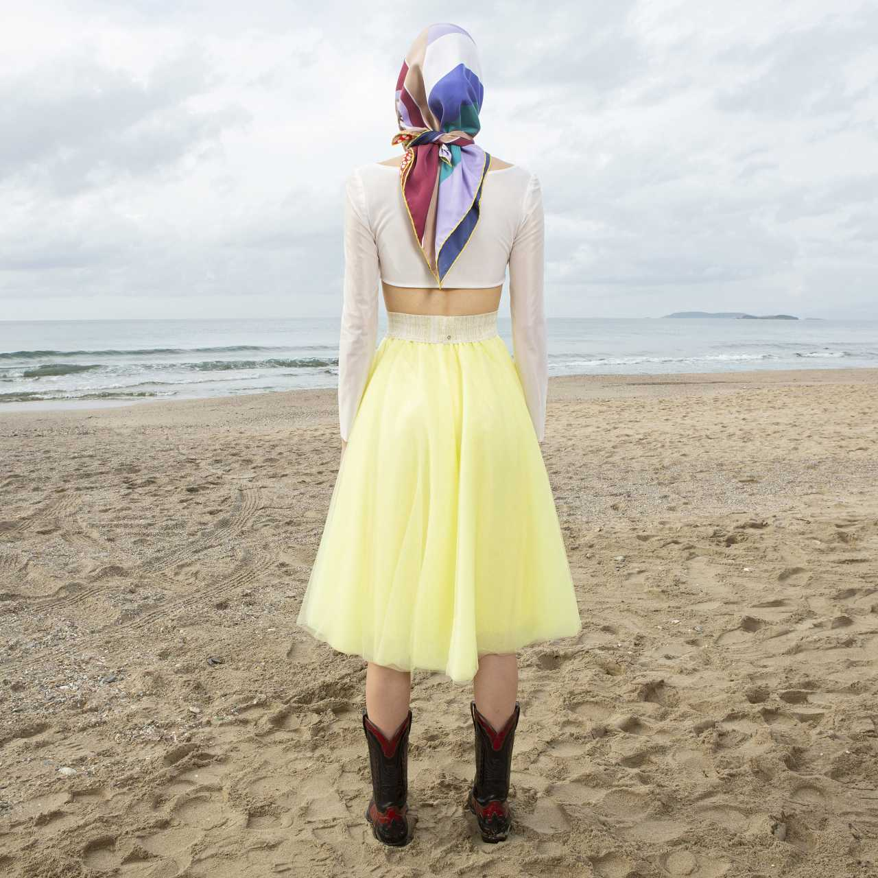 Product preview: Tulle Tutu Skirt Midi Yellow