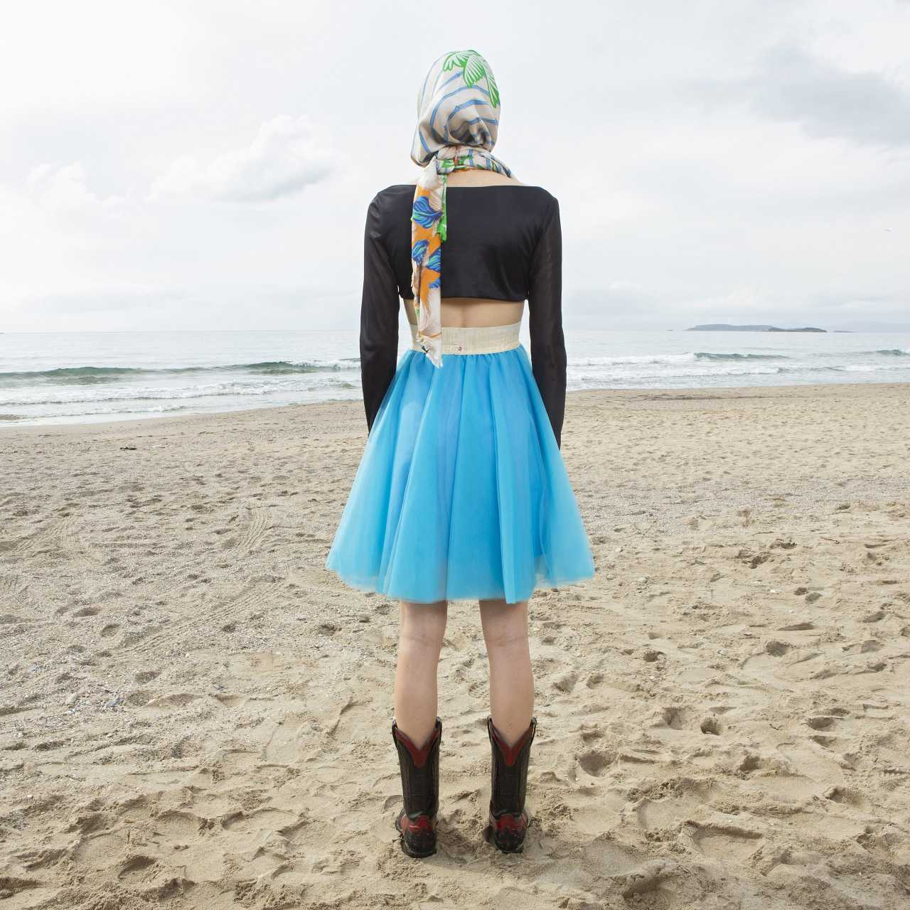 Product preview: Tulle Tutu Skirt Short Sky Blue