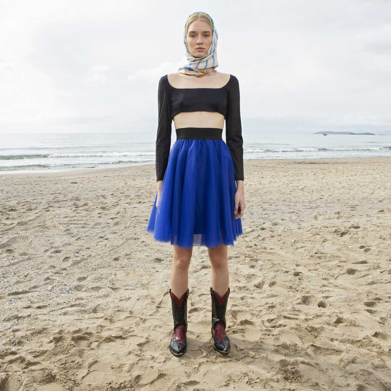 Product preview: Tulle Tutu Skirt Short Blue Raf