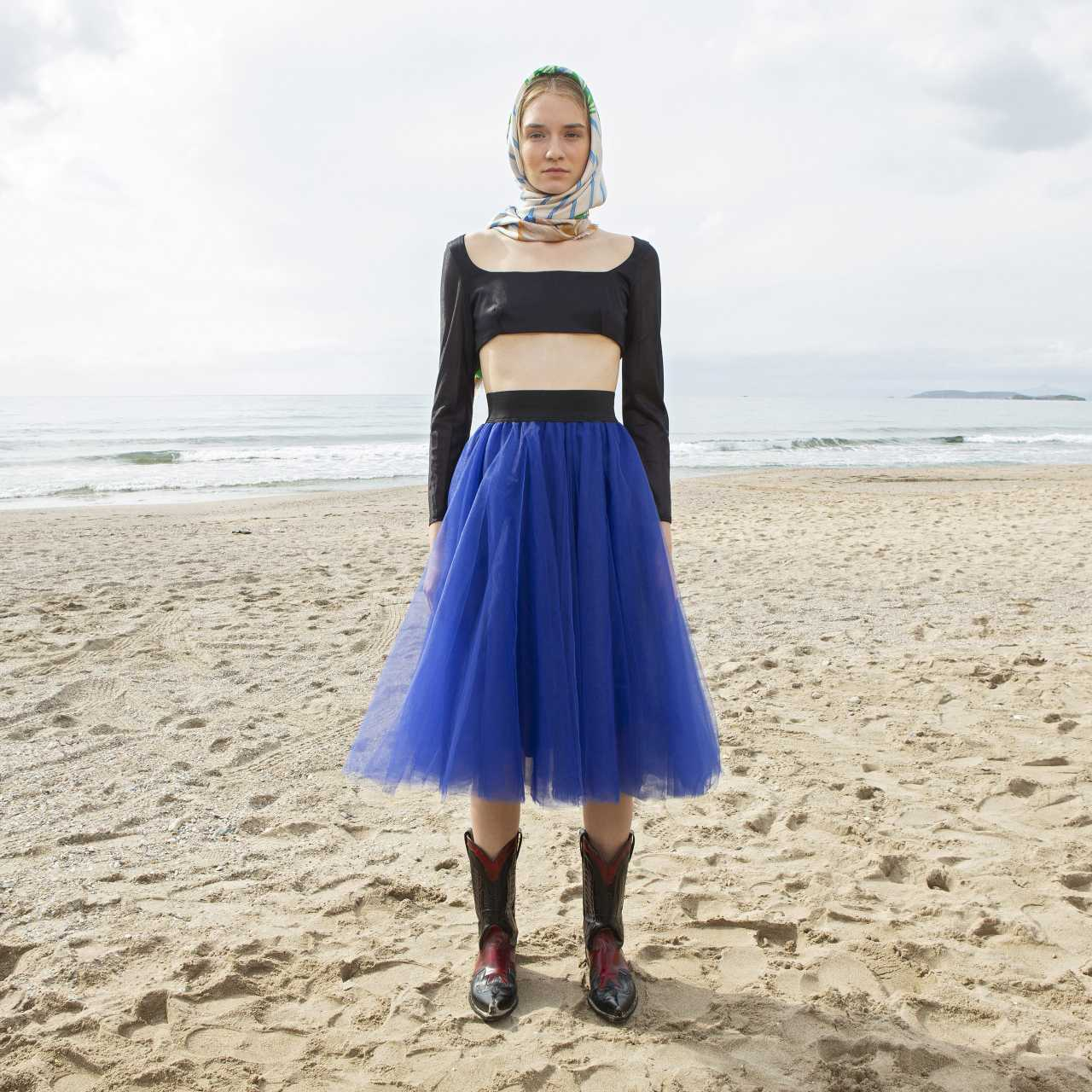 Product preview: Tulle Tutu Skirt Midi Blue Raf