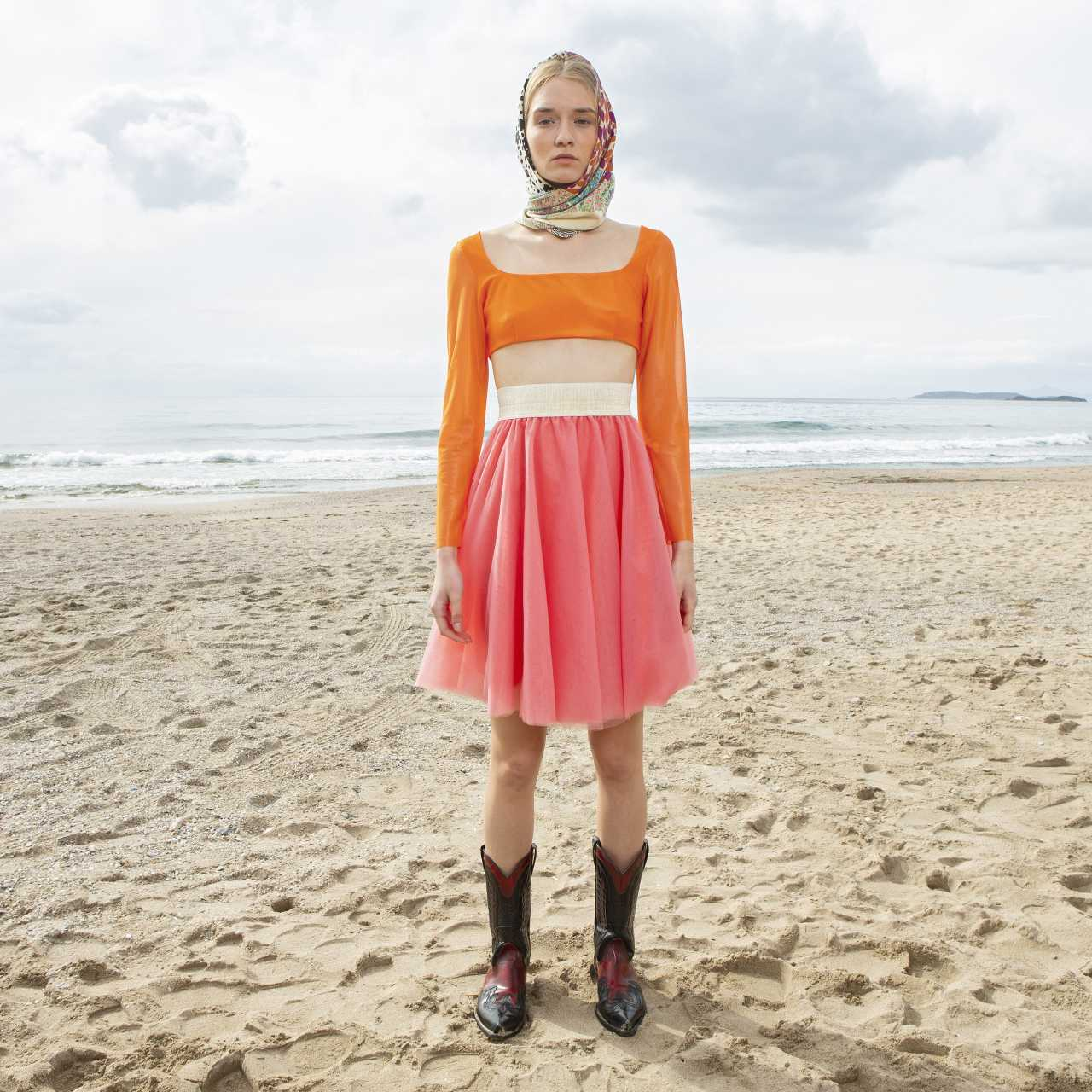 Product preview: Tulle Tutu Skirt Short Coral