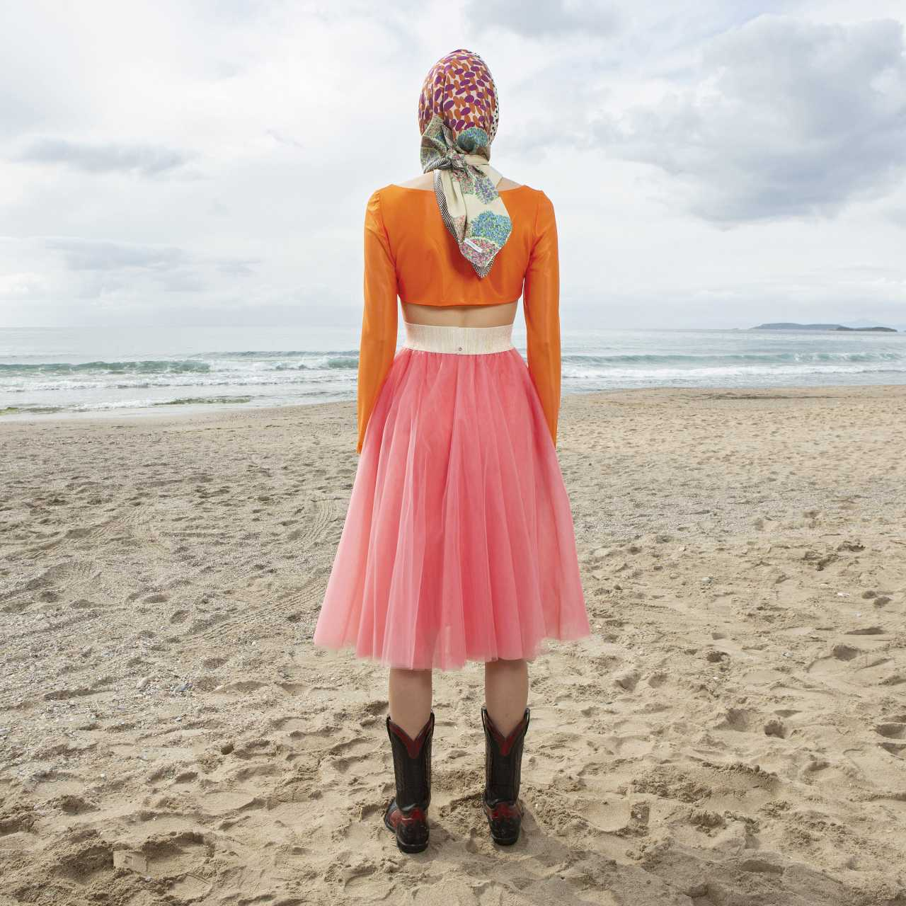 Product preview: Tulle Tutu Skirt Midi Coral