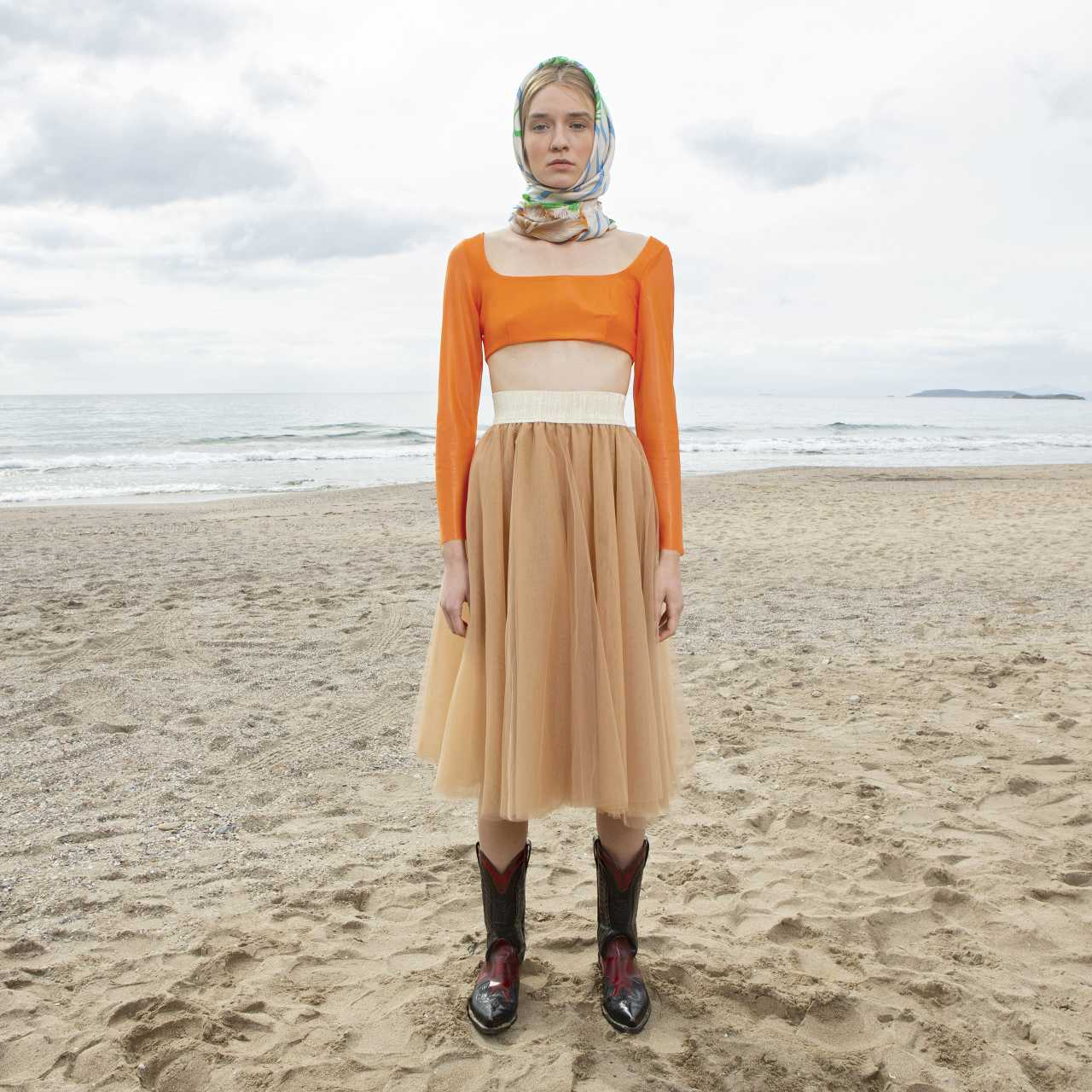 Product preview: Tulle Tutu Skirt Midi Caramel