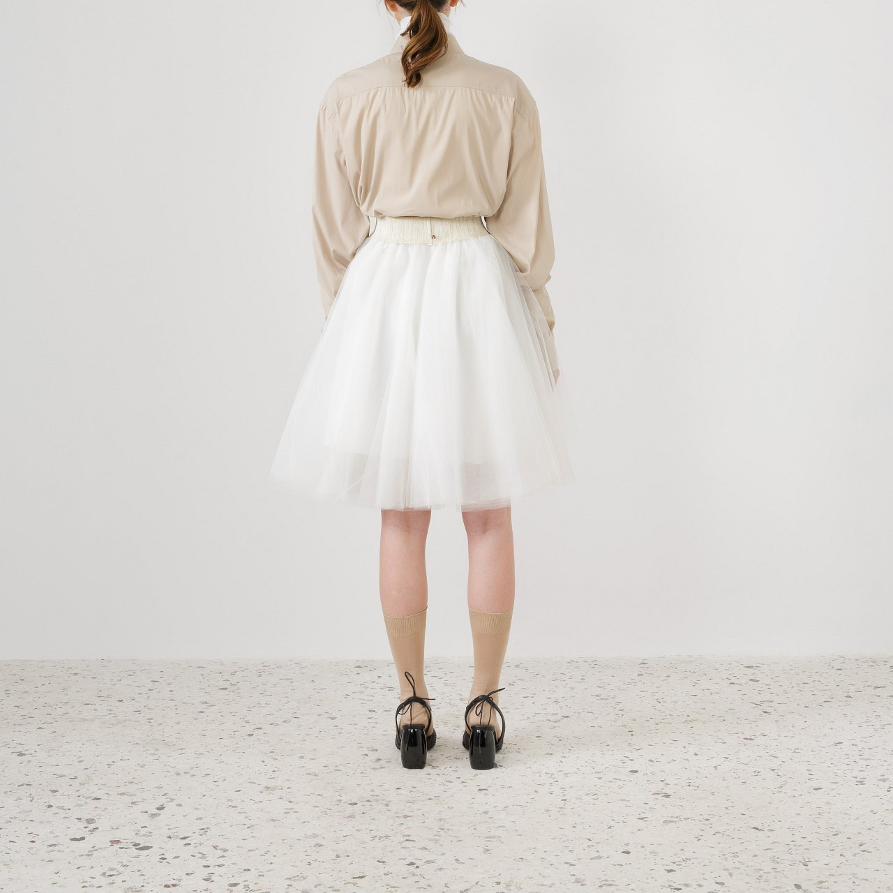Product preview: Tulle Tutu Skirt Ivory Short