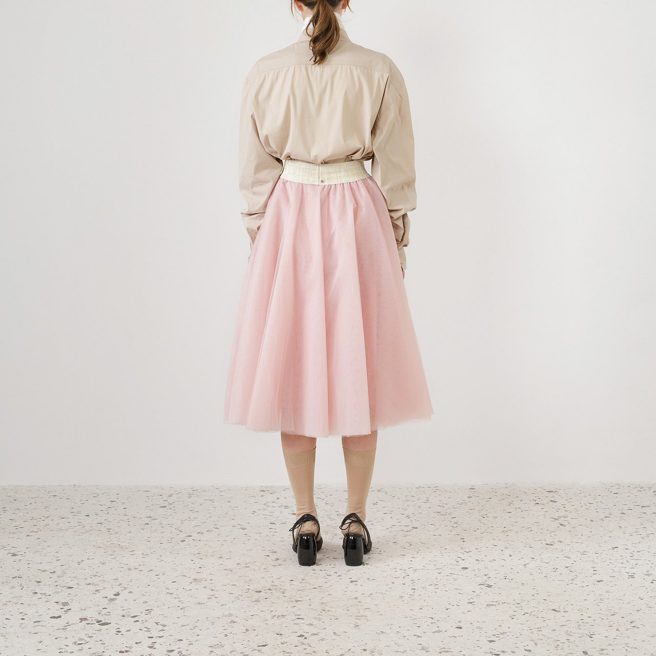 Product preview: Tulle Tutu Skirt Dusty Pink Midi
