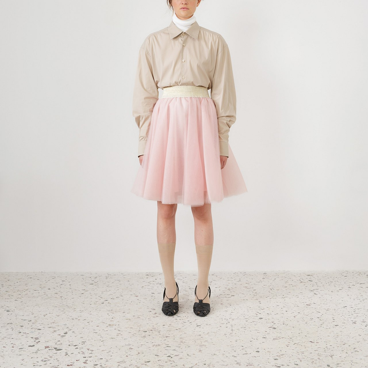 Product preview: Tulle Tutu Skirt Dusty Pink Short