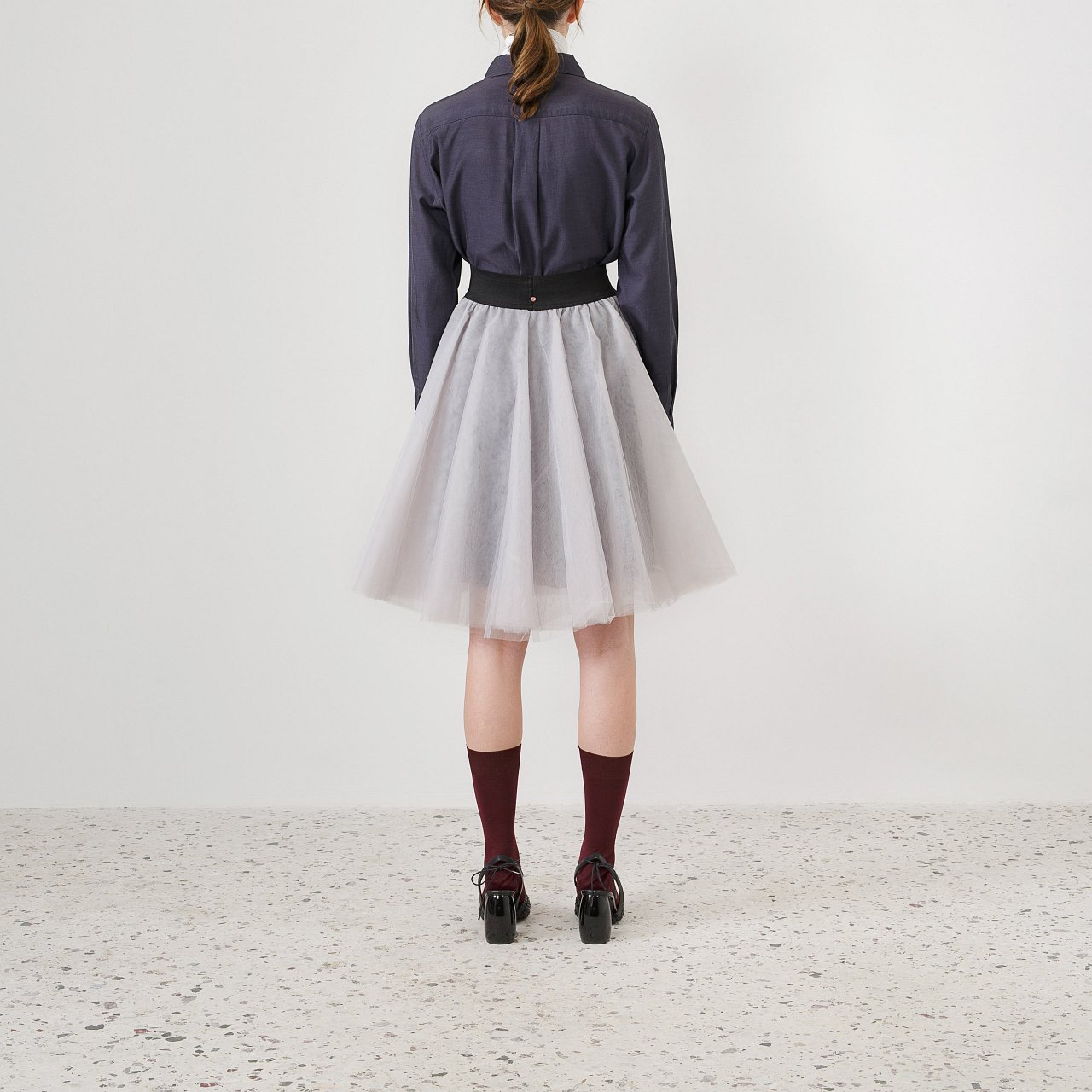 Product preview: Tulle Tutu Skirt Gray Short