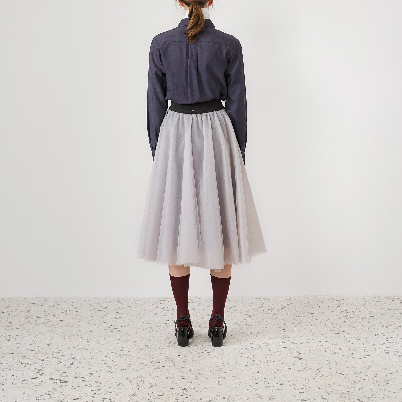 Product preview: Tulle Tutu Skirt Gray Midi