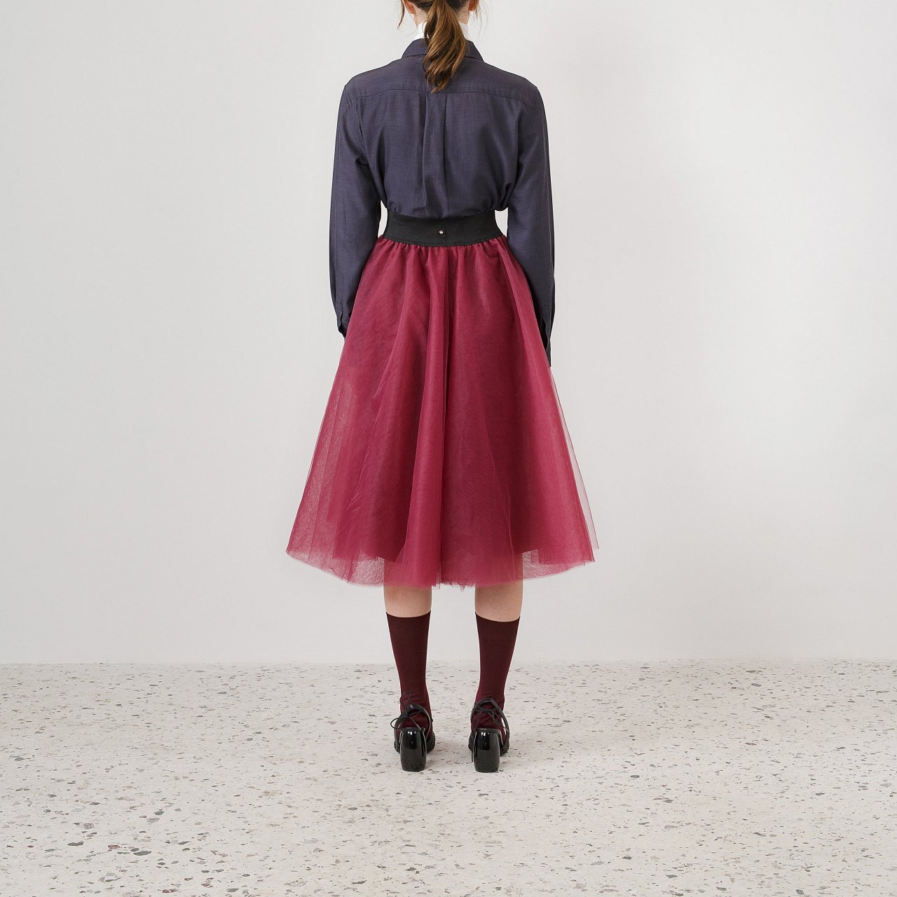 Product preview: Tulle Tutu Skirt Plum Midi