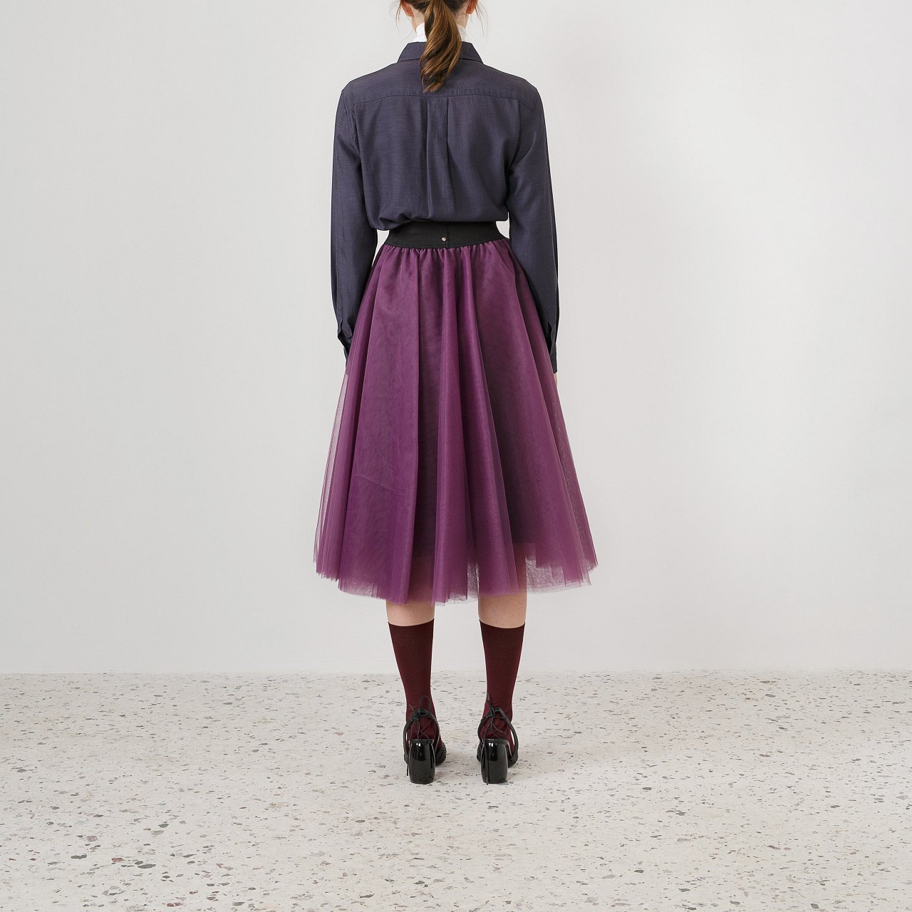Product preview: Tulle Tutu Skirt Purple Midi