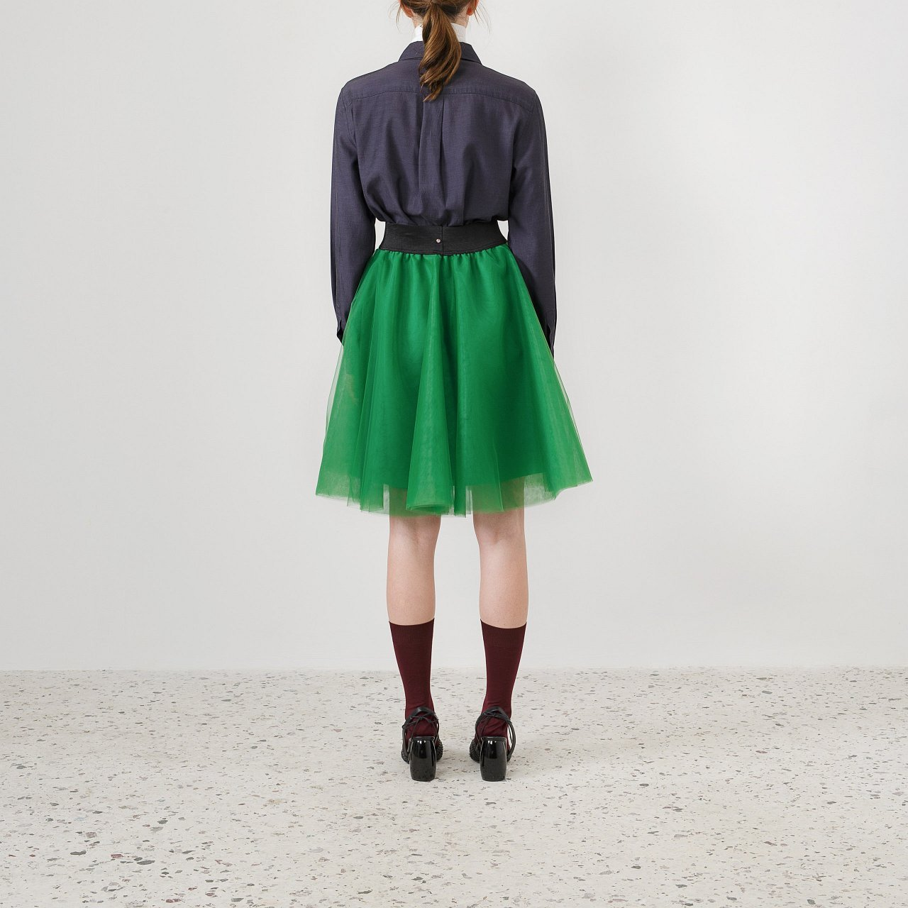 Product preview: Tulle Tutu Skirt Green Short