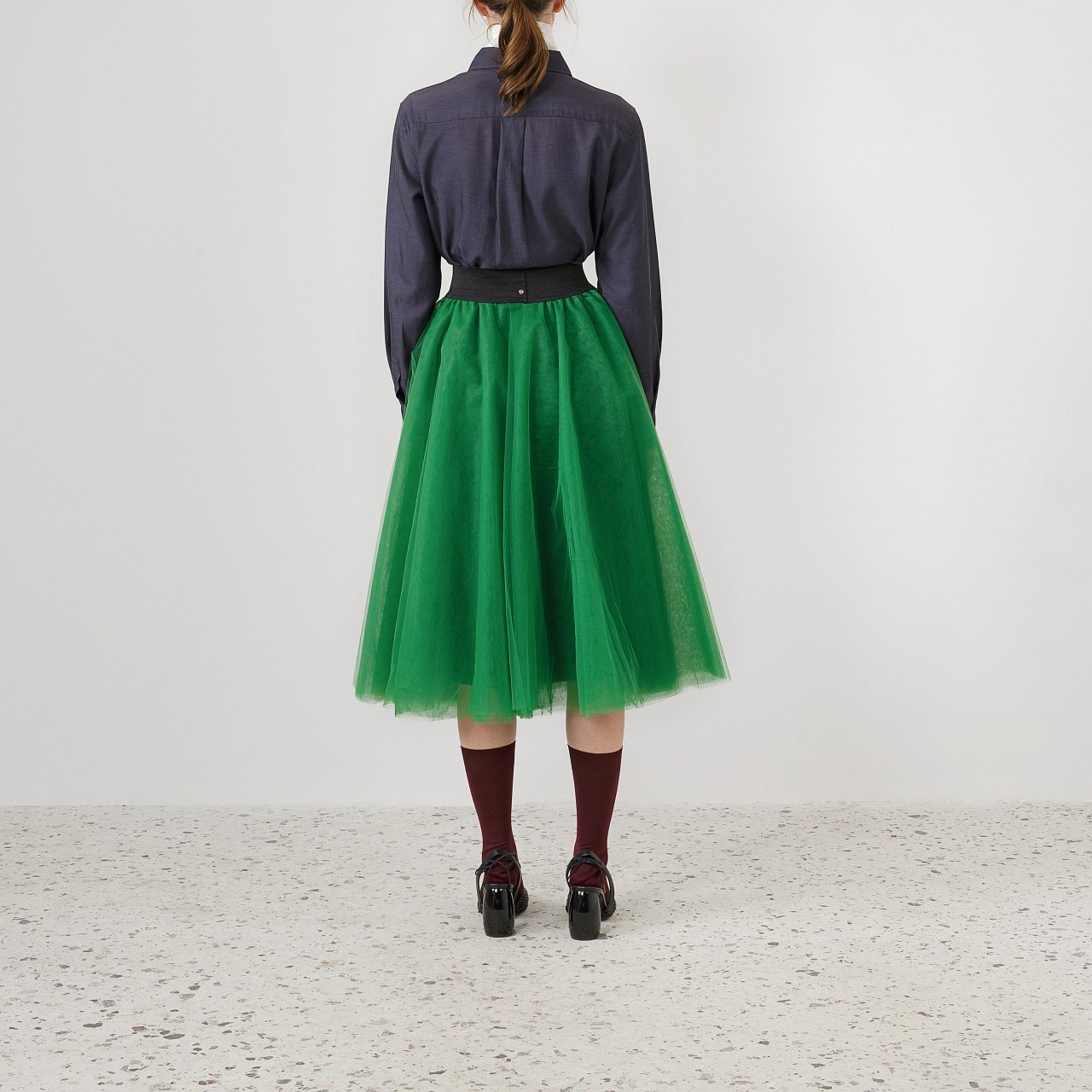 Product preview: Tulle Tutu Skirt Green Midi