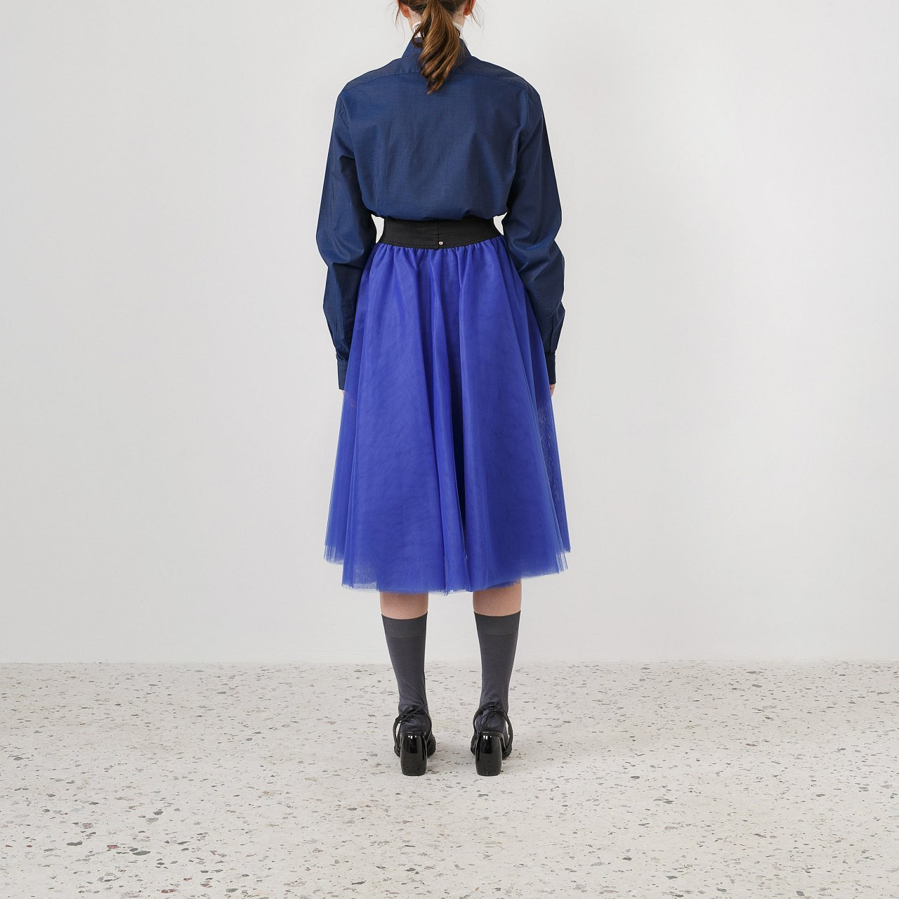 Product preview: Tulle Tutu Skirt Cobalt Blue Midi